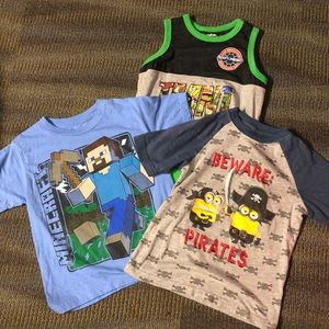 Other - Bundle of 3 character tees size 4/5